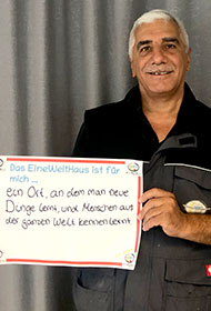 Ahmed Al Jabouri<br /> Hausmeister